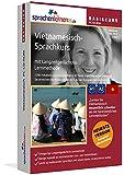 Vietnamesisch-Basiskurs mit Langzeitgedächtnis-Lernmethode von Sprachenlernen24: Lernstufen A1 + A2. Vietnamesisch lernen für Anfänger. Sprachkurs PC CD-ROM für Windows 10,8,7,Vista,XP/Linux/Mac OS X