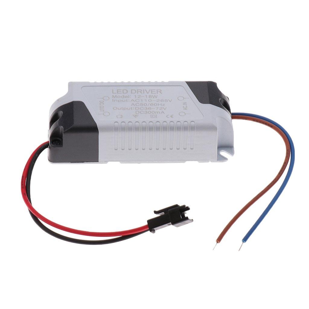 8-12W Sharplace Fuente de Alimentaci/ón LED Luz de Panel Controlador de L/ámpara Herramienta