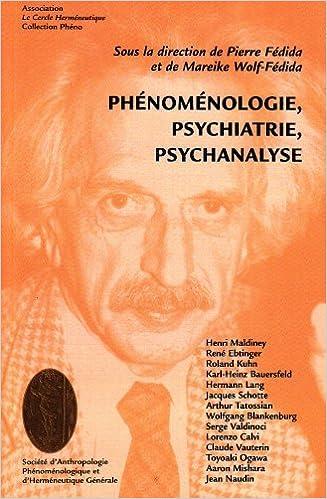 Téléchargement Phénoménologie, psychiatrie, psychanalyse pdf, epub
