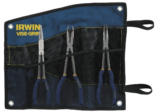 IRWIN VISE-GRIP Pliers Set, Long Reach, 3 Pieces (1799145)