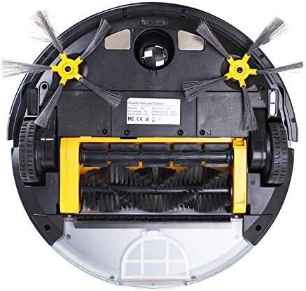 SEESEE.U Aspirateur Robot avec contrôle de l\'application WiFi, Navigation sur la Carte, Grand réservoir à poussière, réservoir d\'eau, vadrouille sèche et Humide