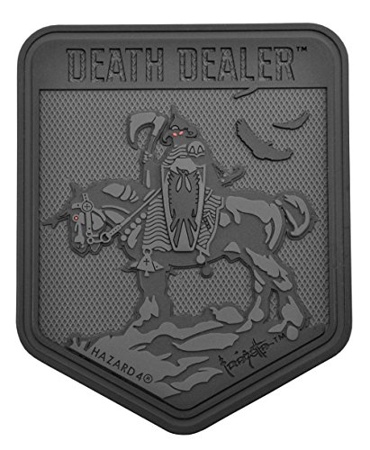 HAZARD 4 FZ-DDL-BLK Death Dealer By Frank Frazetta Patch bla