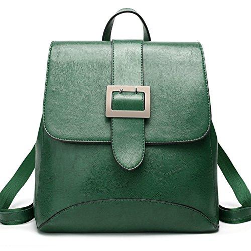 SiMYEER Women's Leather Backpack Purse Top Tote Bags Handbags Shoulder Bag School Casual Daypack for Girls