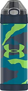 Under Armour Protege 16 Ounce Stainless Steel Hydration Bottle, Bandit Lime