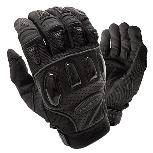 Olympia 715 Xtreme Gel Motorcycle Sport Gloves (Black, X-Large)