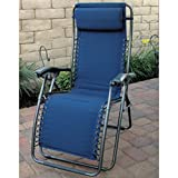 Prime Products 134572 DEL MAR RECLINER-CA BL PL