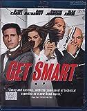 Get Smart (2008, Blu-ray, Region A, Peter Segal) Anne Hathaway, James Caan, Dwayne Johnson (AKA The Rock)