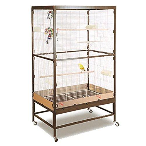 montana cages voliere zimmervoliere k fig paradiso 90 choco vanilla online kaufen. Black Bedroom Furniture Sets. Home Design Ideas