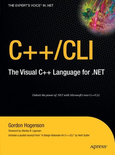 C++/CLI: The Visual C++ Language for .NET by Apress