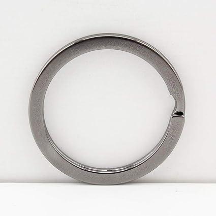 Llavero redondo de hierro dividido para hacer monederos ...