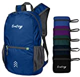 EcoCity Ultra-light Packable Backpack Hiking Daypack Foldable Camping Outdoor Travel Biking School Pack Air Travelling Carry on Backpacking(BP0122B3)
