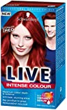 Schwarzkopf LIVE Intense Colour Permanent 038 Forever Red - Pack of 3