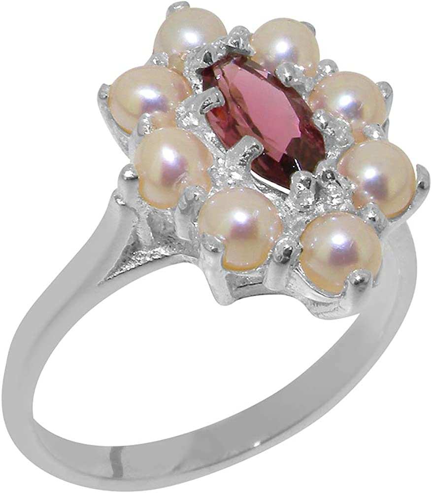 Wonderful sterling silver ring with an extraordinary 2.97 carats pink Tourmaline High quality Sterling Silver Tourmaline ring.