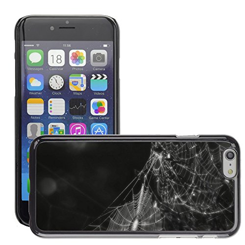 """Bild Hart Handy Schwarz Schutz Case Cover Schale Etui // M00134125 Spinnennetz Spinnennetz Insekt Creepy // Apple iPhone 6 PLUS 5.5"""""""