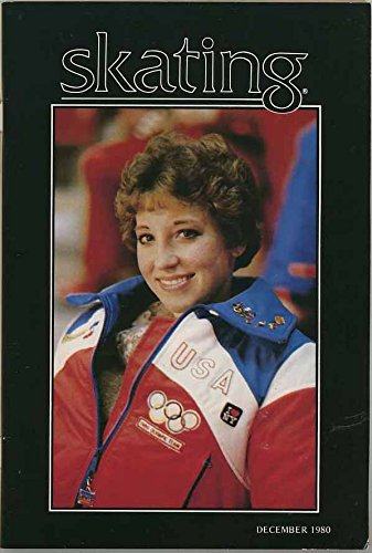 Skating Magazine - December 1980 - Sandy Lenz cover photo - Tiffany Chin feature - United States Figure Skating - Tiffany States United