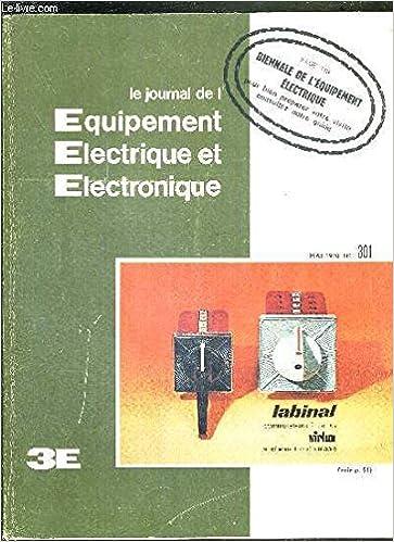 JOURNAL L'EQUIPEMENT ELECTRIQUE/ELECTRONIQUE