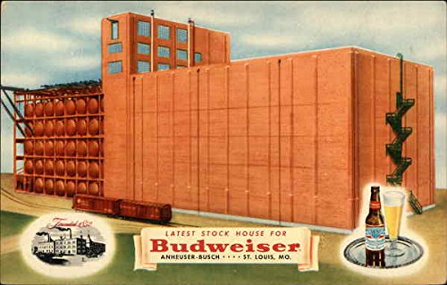 Latest Stock House for Budweiser Anheuser-Busch St. Louis, Missouri Original Vintage Postcard