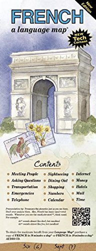 FRENCH a language map: Quick reference phrase guide for beginning and advanced use.  Words and phrases in English, French, and phonetics for easy ... Publisher: Bilingual Books, Inc. ()