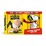 The Peanuts Movie - Limited Edition Gifts Set - With Snoopy Plush