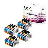 Vividcolor Compatible Canon PGI-250XL 250 CLI-251XL 251 Ink Cartridges High Yield Work Canon PIXMA MG7520 MX922 MG7120 MG5420 MG5520 MG5620 iP720 iX6820 Printer (20-Pack)