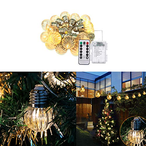 Outdoor Pumpkin String Lights in US - 2