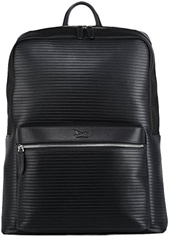 Doshi Lux Ribbed Backpack - Microfiber Vegan Leather