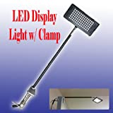DSM TM LED Display Light White(6000k) w/ C-clamp for Trade Show Booth Panel 78 LED Las Vegas Show Booth Approved Ul
