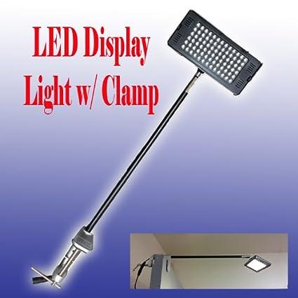 Image Unavailable  sc 1 st  Amazon.com & Amazon.com : DSM TM LED Display Light White(6000k) w/ C-clamp for ...