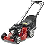 Jonsered L2821, 21 in. 160cc GCV160 Honda 3-in-1 Walk Behind Front-Wheel-Drive Mower 10 Powered by 160cc Honda GCV160 engine with 6.9 ft-lbs Gross torque Dual trigger control system allows you to operate with either hand, or split the effort between both. High-tunnel cutting deck design delivers premium cut quality and bagging performance while providing a close trim, every time.