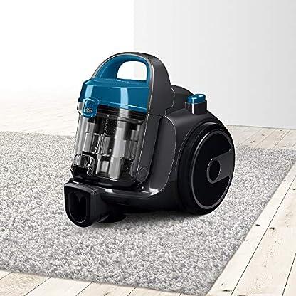 Bosch BGC05A220A Clean´n beutelloser Bodenstaubsauger (platzsparend, einfaches Entleeren, sehr leicht, 700 Watt) grau 3