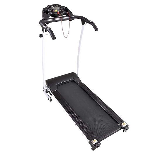 MRT SUPPLY Fitness - Cinta de Correr eléctrica portátil de 1100 W ...