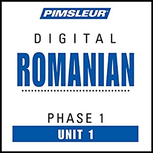 Romanian Phase 1, Unit 01 Audiobook