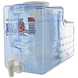 Arrow Home Products 00756 Beverage Dispenser, 3-Gallon, Clear