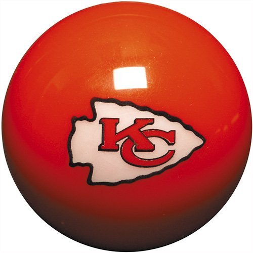 NFL Kansas City Chiefs Billiards Ball Set by Imperial