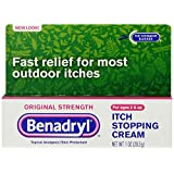 Benadryl Itch Stopping Cream, Original Strength-1oz