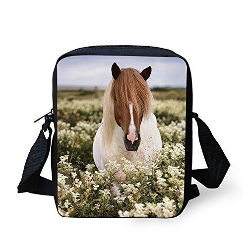 Horse7 IDEA HUGS Sac C663E Marron bandoulière Y Horse6 femme petit pour 4wTxAT8