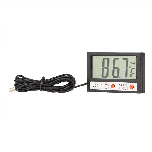 CHENHANG Termometro Mini Termómetro Digital Lcd Termómetro Y ...