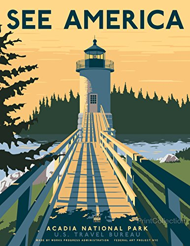 - Print Collection See America Acadia National Park 11