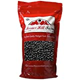 Hoosier Hill Farm Black Jelly Beans, 2 Pounds (Black Licorice)