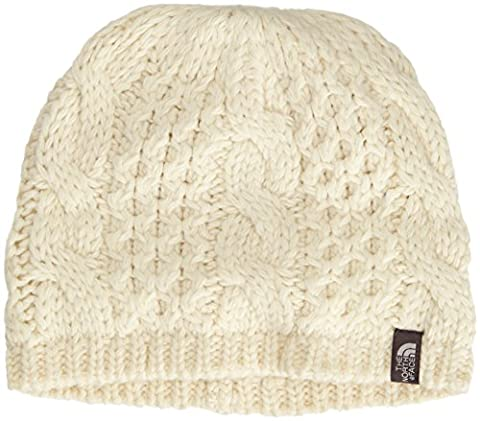 The North Face Women's Cable Minna Beanie Vintage White One Size