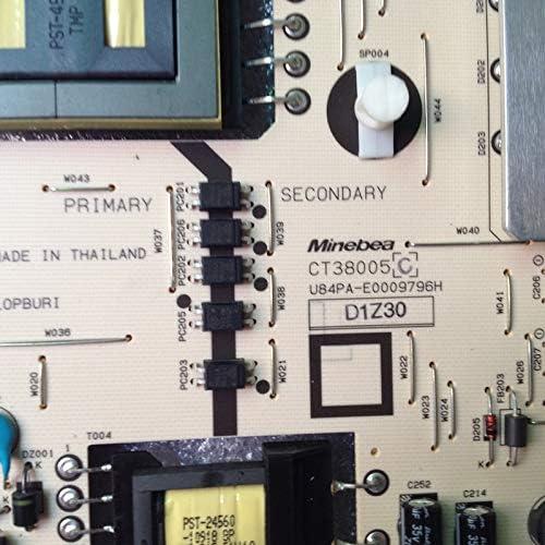 Pukido RDENCA420WJQZ CT38005 for Sharp LCD-60X50A Power Board Plug Type: Universal