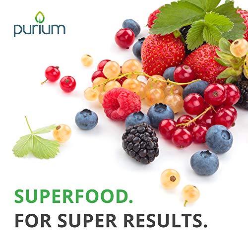 Purium Power Shake - Apple Berry Flavor - 1065 grams - Vegan Meal Replacement Powder, Protein, Vitamins & Minerals - Certified USDA Organic, Gluten Free, Kosher - 30 Servings by Purium (Image #4)