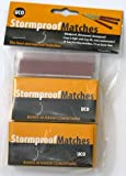 UCO Stormproof Matches, twin pack (50 matches)