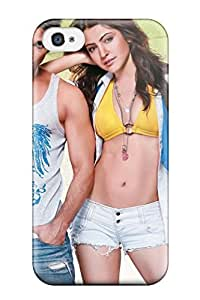 Hot Fashion EstqXoY9732YNhOo Design Case Cover For Iphone 4/4s Protective Case (shahid Anushka Sharma In Badmaash Company)