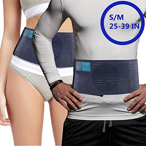 Everyday Medical Umbilical Hernia Belt - for Women and Men  Abdominal Hernia Binder for Belly Button Navel Hernia Support, Helps Relieve Pain - for Incisional, Epigastric, Ventral, Inguinal Hernia