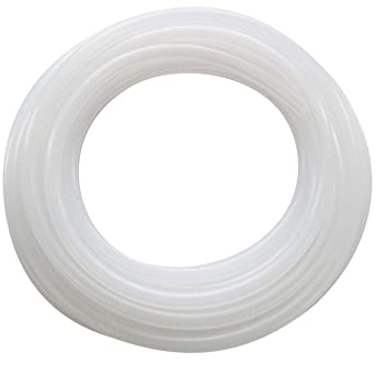 """Pure Silicone Tubing-Flexible Hose Pipe Food Grade Hoses, High Temp Tube,  1/4"""" ID x 3/8"""" OD(6mmx10mm) - 10 Feet: Amazon.in: Industrial & Scientific"""