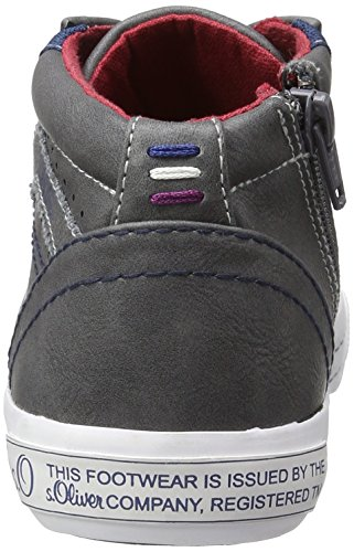 s.Oliver Jungen 45101 Low-Top Grau (GREY 200)