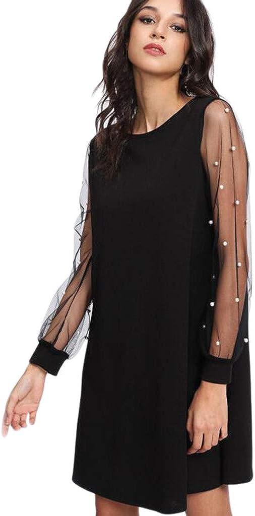 Transer- Hollow Mesh Dress...