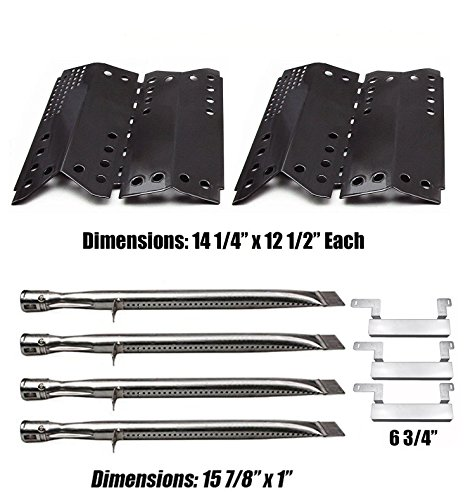 Relishfire Stok SGP4330SB Gas Grill Parts Kit Replacement, SS Gas Burner& Heat Plate by Relishfire