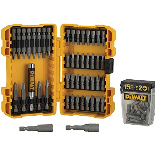 DEWALT Screwdriving Bit Set 62 Piece with Case
